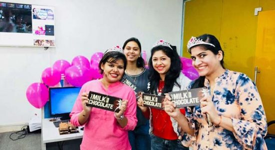 women's day celebration at Learning Routes