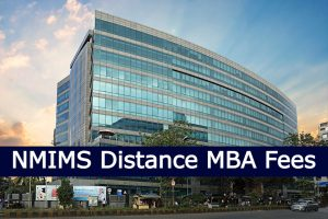 Distance MBA fees