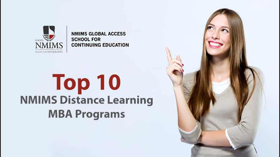 Top 10 NMIMS Distance Learning MBA Programs