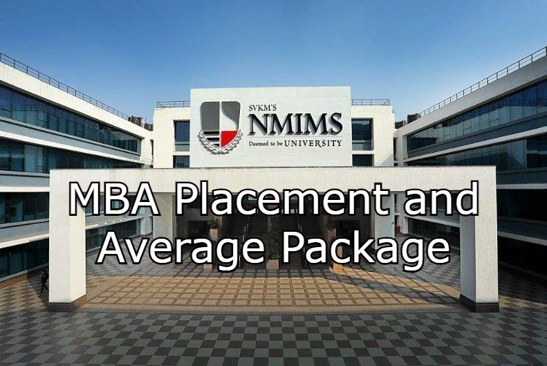 NMIMS MBA Placement and Average Package